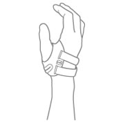 Push Hand Braces Illustration